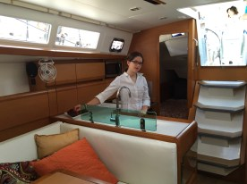 Jeanneau Sun Odyssey 389 Galley