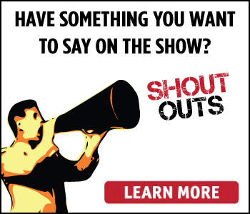 Listener Shout Outs