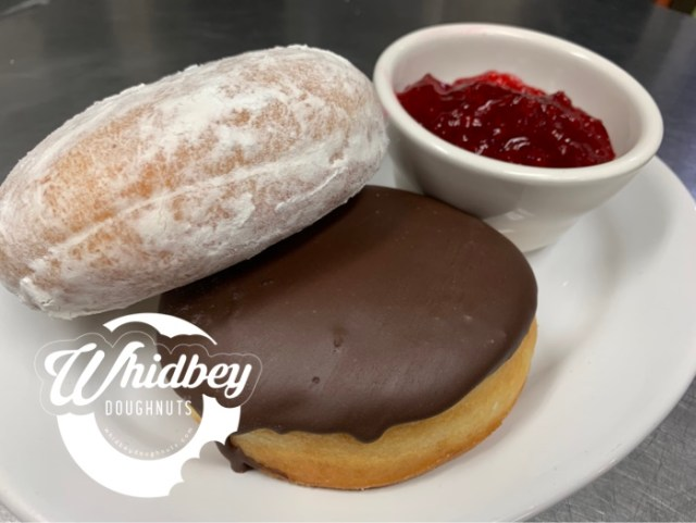 Jelly Doughnuts - Whidbey Doughnuts