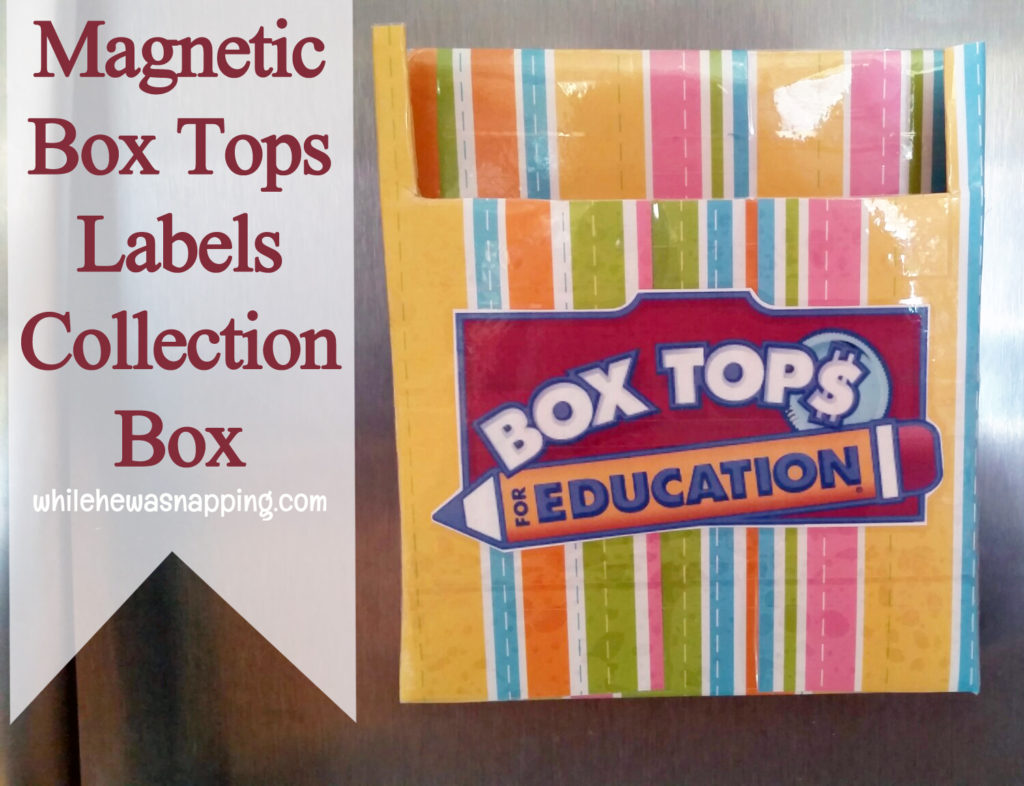 Keep Track Of Your Box Tops Labels With A DIY Collection