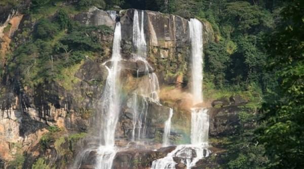 Sanje Falls at Udzungwa Mountains National Park