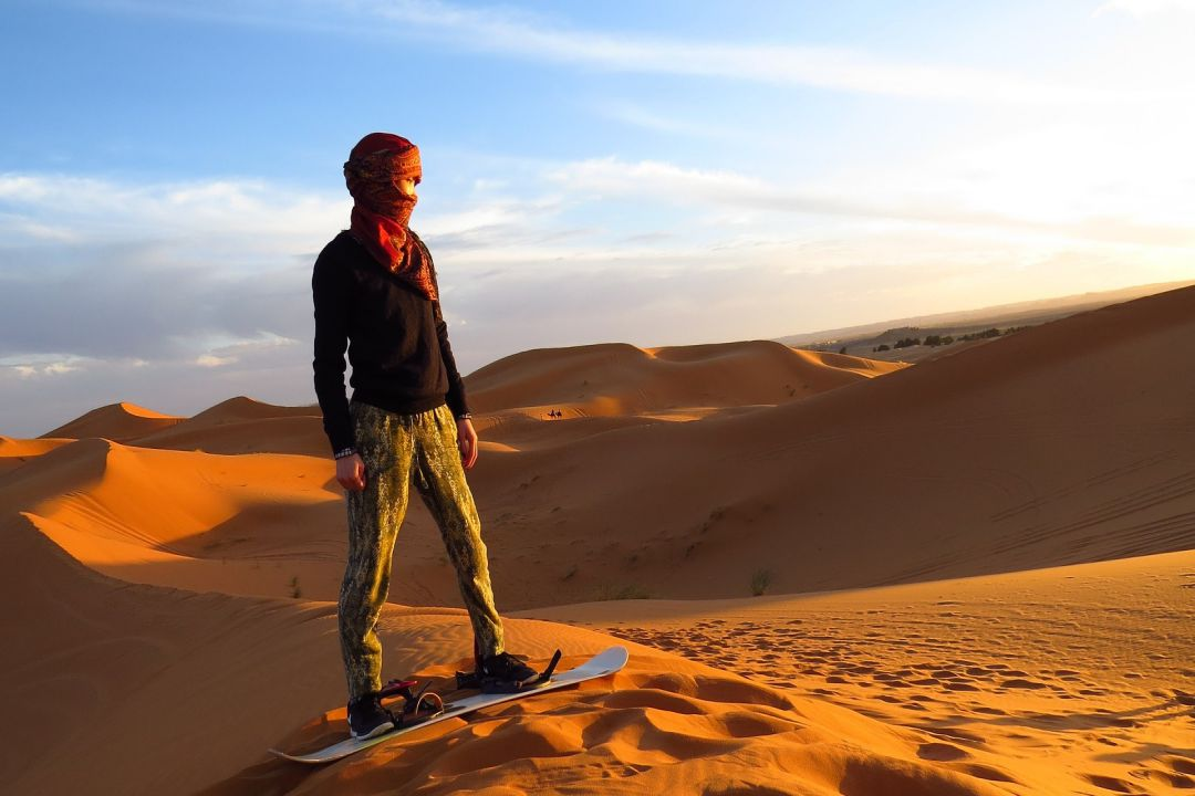 Extreme Adventures - Sandboarding in Swakopmund - whileinafrica