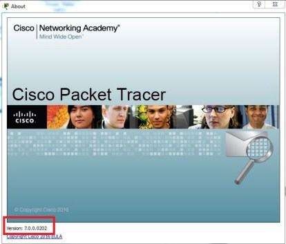 Cisco Packet Tracer 7 for windows 32 bit