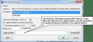Capture Filter