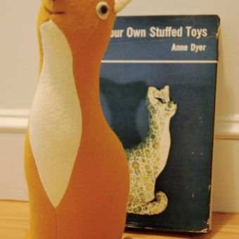 Book Review: Design Your Own Stuffed Toys by Anne Dyer