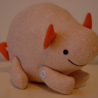 Elements of Soft Toy Design #7: A Simple Jointed Toy