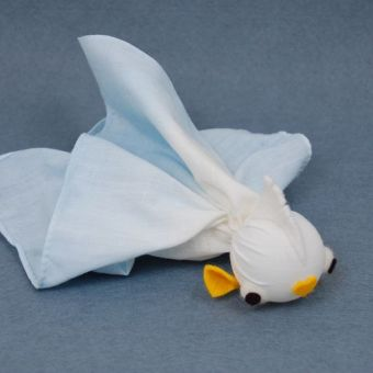 Ping Pong Ball and Handkerchief Fish: Free Tutorial