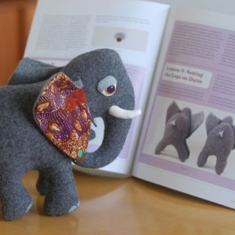 My New Book – Stuffed Animals: From Concept to Construction