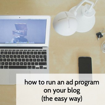 How to Run an Ad Program On Your Blog: Passionfruit Ads
