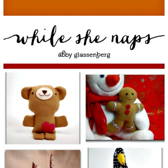 Gift Guide: Free Softie Tutorials