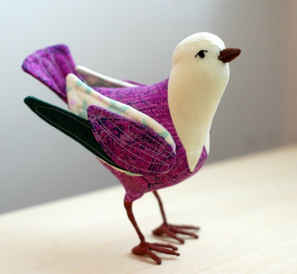 Pinterest Fabric Bird Pattern