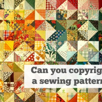 Can You Copyright a Sewing Pattern?