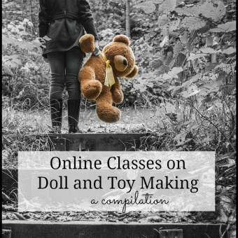 A Compilation of Online Classes on Doll and Toy Making