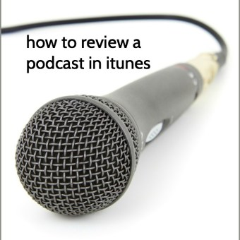 How to Review a Podcast in iTunes