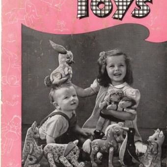 Easy-to-Sew Toys (1944)