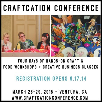 I'm Teaching at Craftcation