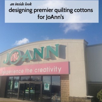 An Inside Look at Designing Premier Quilting Cottons for JoAnns