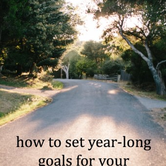 How to Set Year-Long Goals for Your Creative Business