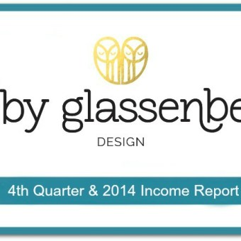 Abby Glassenberg Design 4th Quarter and 2014 Income Report