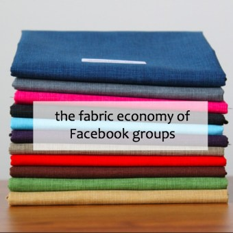 The Fabric Economy of Facebook Groups