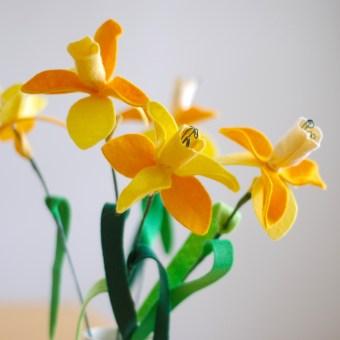 Felt Daffodils