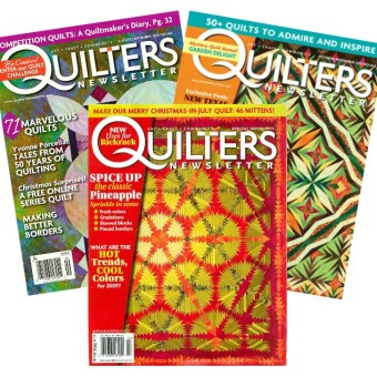 Quilters Newsletter Shuttered Amidst Cutbacks at F+W