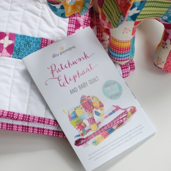 Patchwork Elephant and Baby Quilt Print Pattern is Here!