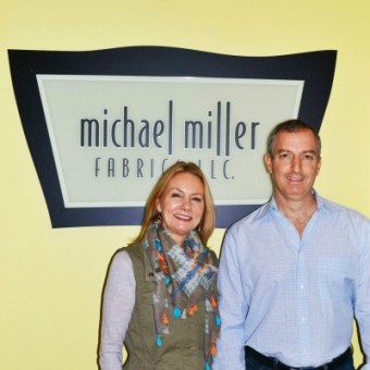 Podcast Episode #98: Kathy Miller and Michael Steiner, Co-Founders of Michael Miller Fabrics