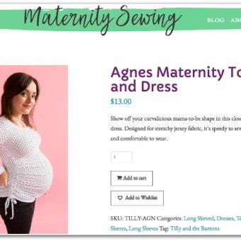 Maternity Sewing Makes It Easy to Sew Through Pregnancy With Style