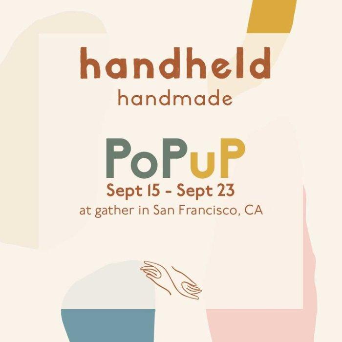 Handheld Handmade Popup Shop