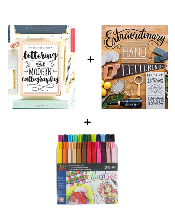 hand lettering gifts