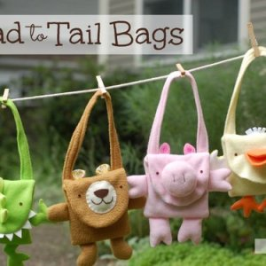 toddler animal purse sewing pattern