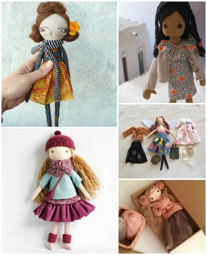5 Handmade Dolls on Etsy