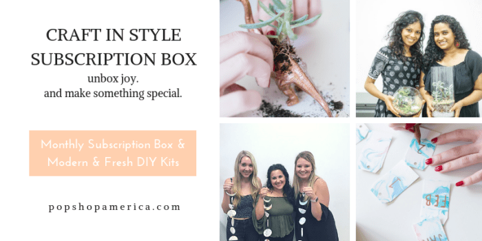 craft in style subscription box