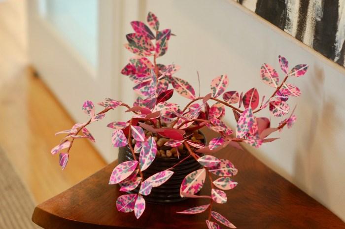 paper house plant