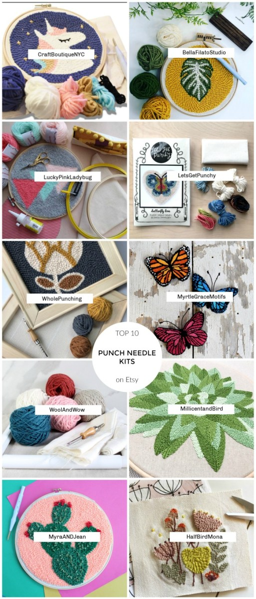Best Punch Needle Kits on Etsy