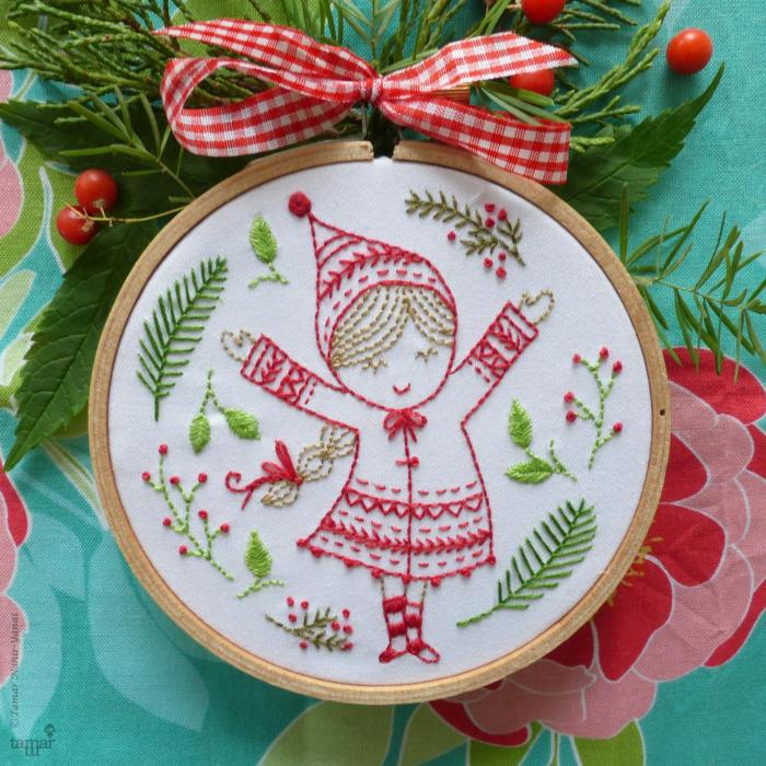 Christmas Embroidery Kit