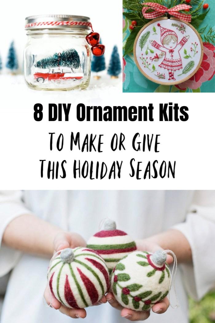 DIY ornament kits