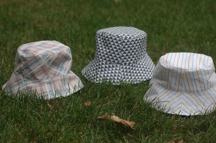 3 bucket hats