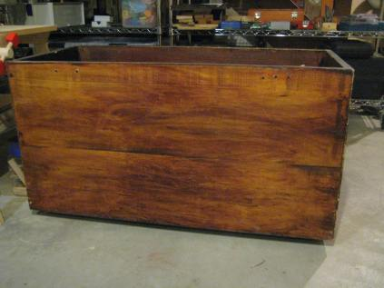 The chest in my shop minus the lid.