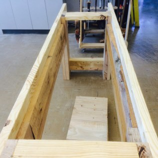 More ash was used to support the undercarriage and the sides