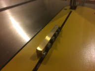 """Using a 1/2"""" spacer for my drawer bottom height"""