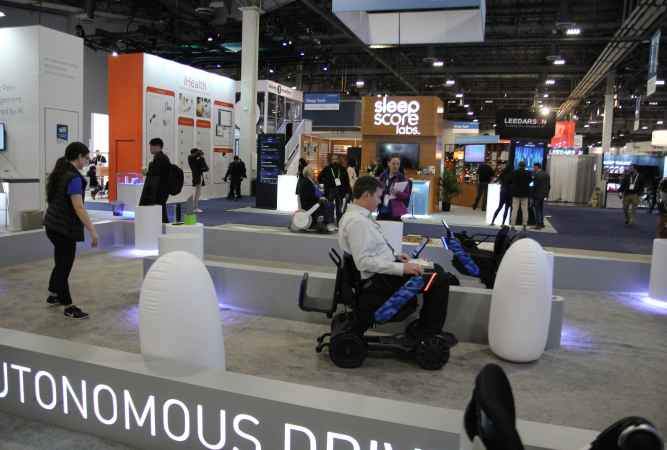 WHILL Unveiled the Future of Mobility at CES 2019: Autonomous Drive