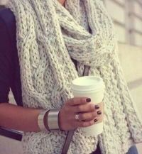 Things That Make Me Happy: Wooly Scarves | Journal of a ...