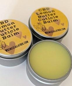 CBD Lemon Butter Cuticle Balm