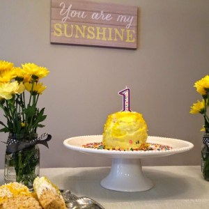 Hadley's First Birthday –  You Are My Sunshine Party