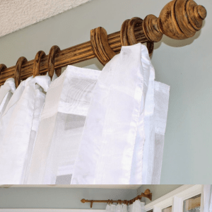Eye-catching Sunroom Curtain Rods: An Easy DIY Project