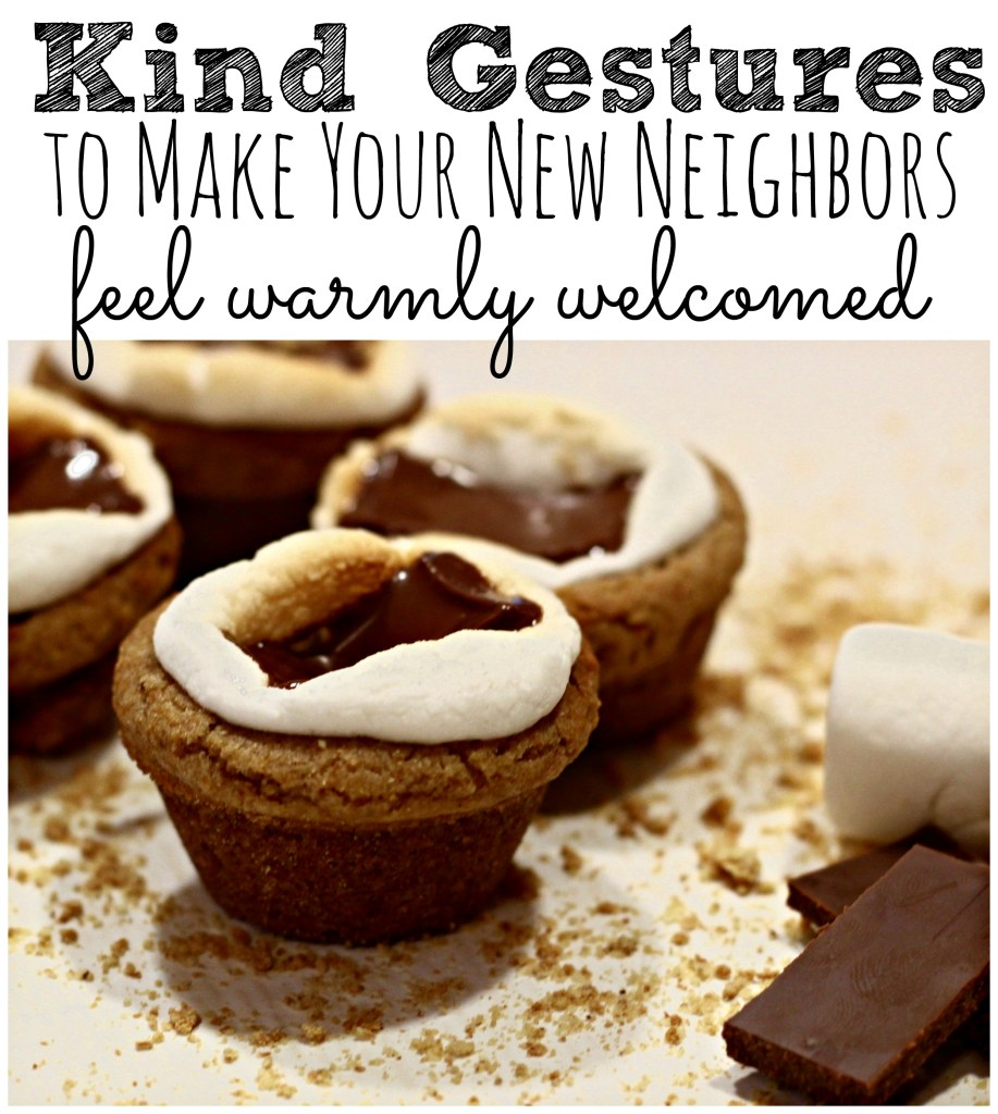 This article will give you all kinds of food AND non-food related ideas for making those new neighbors feel warmly welcomed to the street!