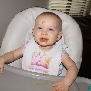 A Day in the Life of Hadley – Eight Months Old