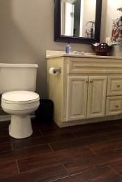 Guest Bathroom Tile Flooring